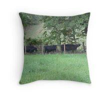 Cow Convoy!! Throw Pillow