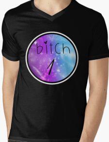 Bitch 1 - Best Friends Mens V-Neck T-Shirt