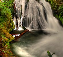 Little Zigzag Falls by Jonathan Cohen