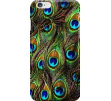 Peacock Feathers Invasion iPhone Case/Skin