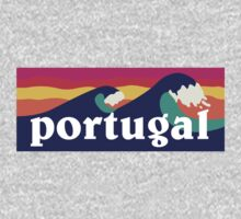 Portugal Surfing Waves by mustbtheweather