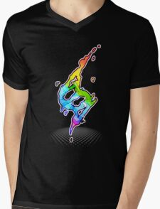 Mega evolution symbol - Charizard X Mens V-Neck T-Shirt