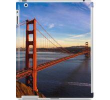 SF Golden Gate Bridge at Sunset iPad Case/Skin
