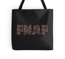 Five Nights at Freddy's - Pixel art - FNAF typography Tote Bag