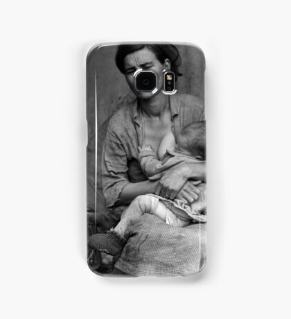 Dorothea Lange, Migrant mother (alternative), Nipomo, California, 1936 2 Samsung Galaxy Case/Skin