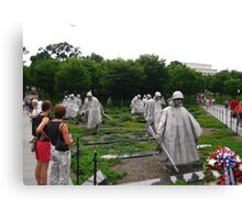 Korean Memorial  Canvas Print