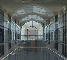 Windows in Corridors Walls Within Halls by RoyAllen Hunt