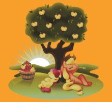 My Little Pony FiM - Apple Sisters by heidiruff