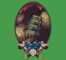 Mermaid Voyage Kids Tee