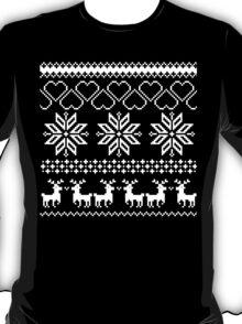 Winter time Black T-Shirt