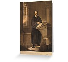 Dr. Martin Luther Greeting Card