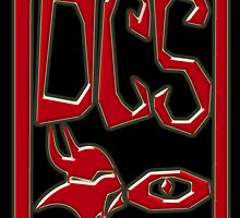 DCS - EYE Chinese-Style Personalised Chops 3D Black by Keith Richardson