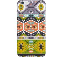 Seamless aztec pattern with geometric elements iPhone Case/Skin