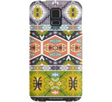 Seamless aztec pattern with geometric elements Samsung Galaxy Case/Skin