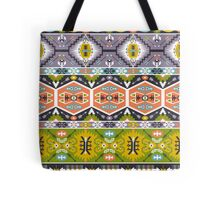 Seamless aztec pattern with geometric elements Tote Bag