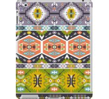 Seamless aztec pattern with geometric elements iPad Case/Skin