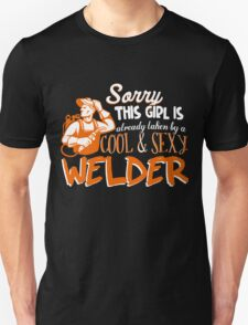 Cool And Sexy Welder T-shirt T-Shirt
