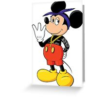 Mickey Pac Greeting Card