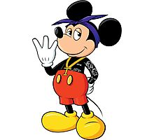 Mickey Pac Photographic Print