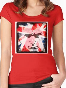 London Calling Challenge Entry Women's Fitted Scoop T-Shirt