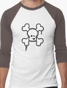 Happy Skull! Men's Baseball ¾ T-Shirt