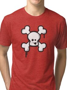 Happy Skull! Tri-blend T-Shirt