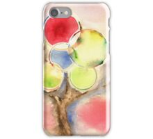 Abstract Tree Watercolors iPhone Case/Skin