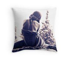 The Backside Throw Pillow