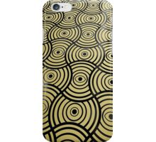 Eyes Golden Metallic Pattern iPhone Case/Skin