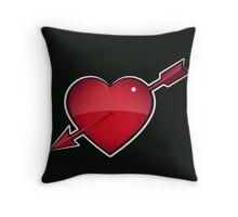 Cupids Arrow Small Throw Pillow Throw Pillow