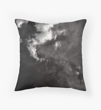 The Hairs Of My Head. Throw Pillow