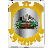 Guild of Brewers iPad Case/Skin