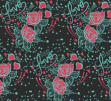 Love Pattern by Rainink
