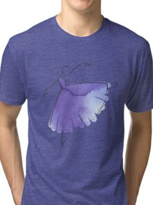 ballerina figure, watercolor Tri-blend T-Shirt