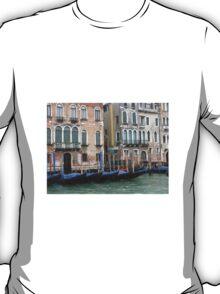 Venice gondolas T-Shirt