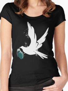 More Bombs for Peace Women's Fitted Scoop T-Shirt