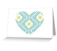 Ukrainian national ornaments Greeting Card