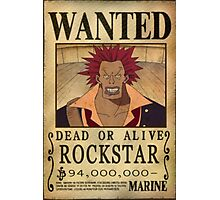 Wanted Rockstar - One Piece Photographic Print