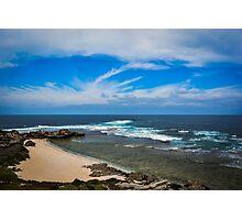 Sandy Beach Photographic Print