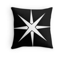 Heroic Music Logo - Black Throw Pillow