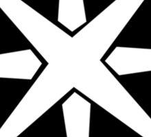Heroic Music Logo - Black Sticker