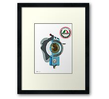 Baroni Carburetor 2 Stroke Art Framed Print