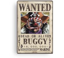 Wanted Buggy - One Piece Canvas Print