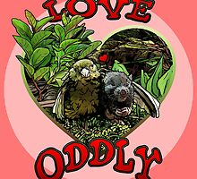 LOVE ODDLY (pink) by torg