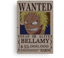 Wanted Bellamy - One Piece Canvas Print