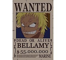 Wanted Bellamy - One Piece Photographic Print