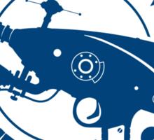 Altair 4 - blue Sticker