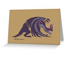 Gore Magala Emblem Greeting Card