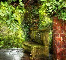 At the Ruins by Mike  Savad
