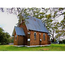 a very old churci in Forest Reefs near Orange NSW Photographic Print